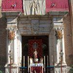 Altar en la Casa de Hermandad el día del Corphus