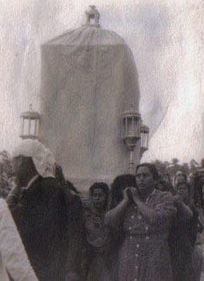 Traslado de la Sagrada Imagen de Ntra. Sra. de Setefilla a su Santuario