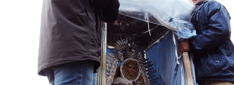 Ida hacia el santuario