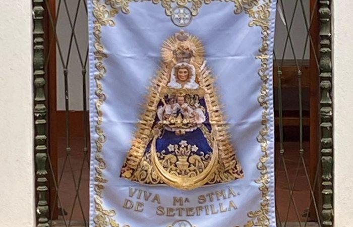 Nuevas Colgaduras de María Santísima de Setefilla