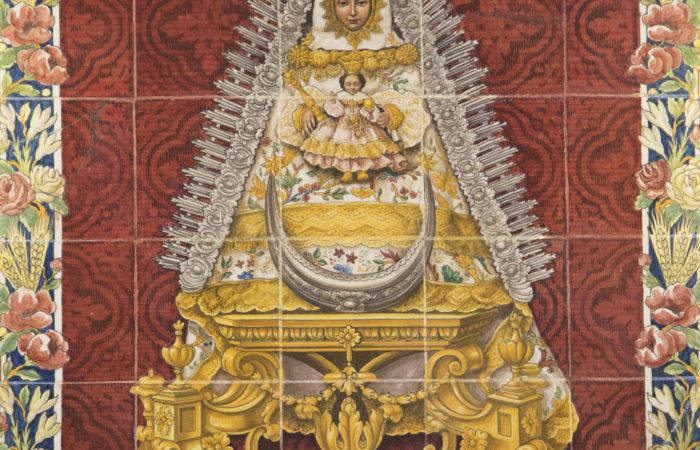 Cartel «Día de la Virgen» 2020