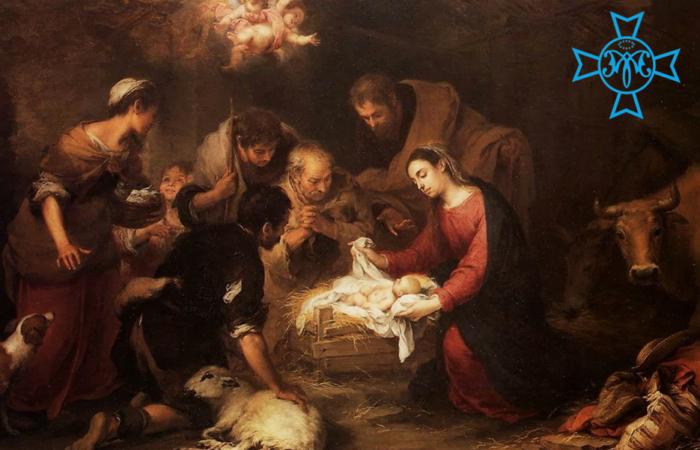 Felicitación de Navidad de la Hermandad.